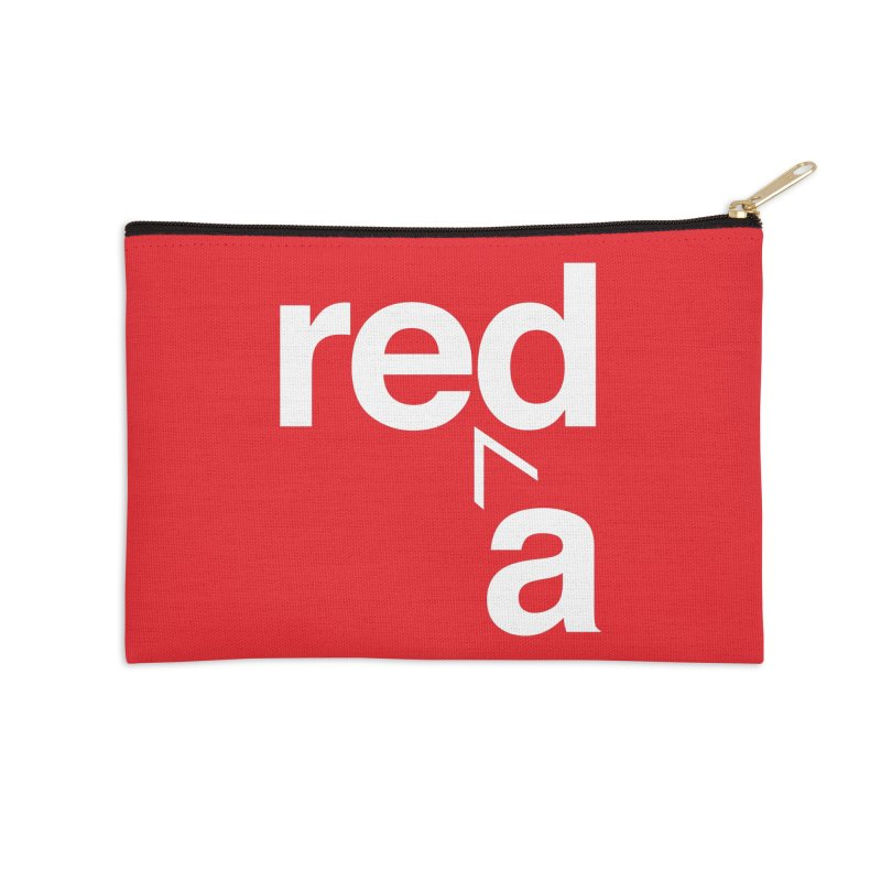Read Red by John Massey Accessories Zip Pouch by Chicago Design Museum