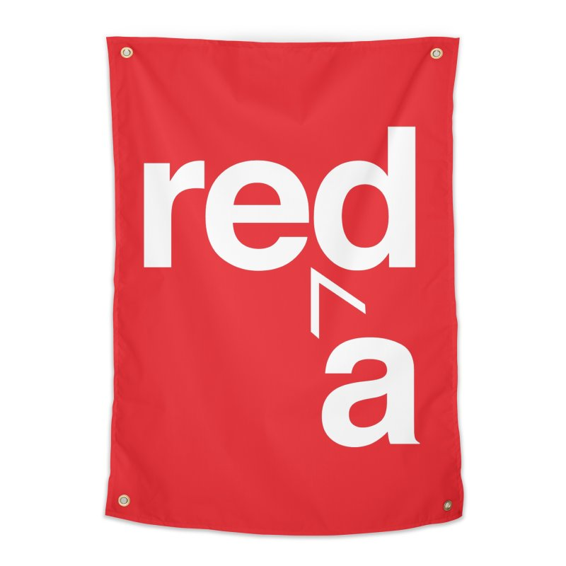 Read Red by John Massey Home Tapestry by Chicago Design Museum