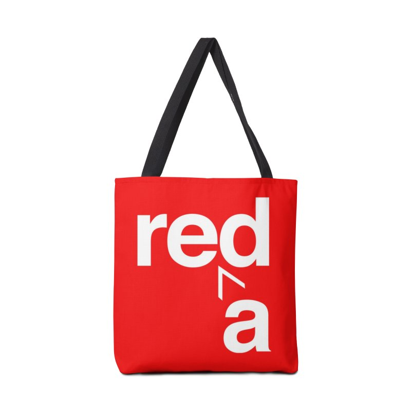 Read Red by John Massey Accessories Tote Bag Bag by Design Museum of Chicago