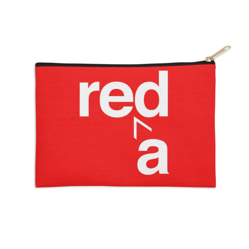 Read Red by John Massey Accessories Zip Pouch by Design Museum of Chicago