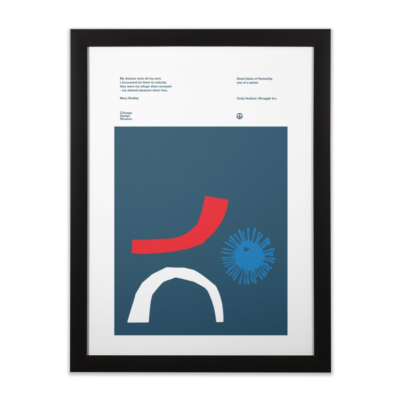 Cody Hudson on Mary Shelley Home Framed Fine Art Print by Chicago Design Museum