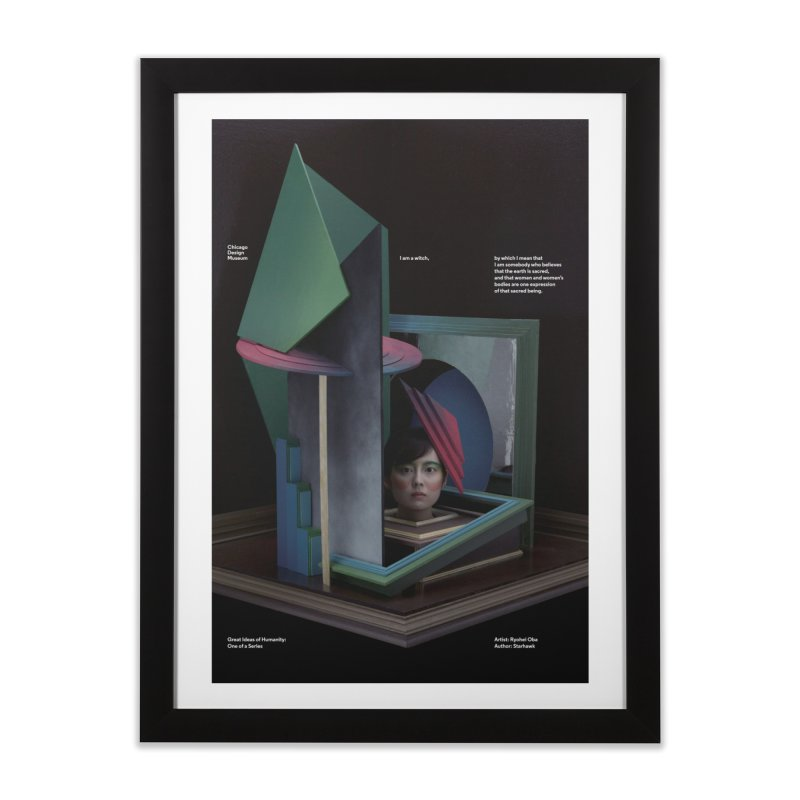 Ryohei Oba on Starhawk Home Framed Fine Art Print by Chicago Design Museum