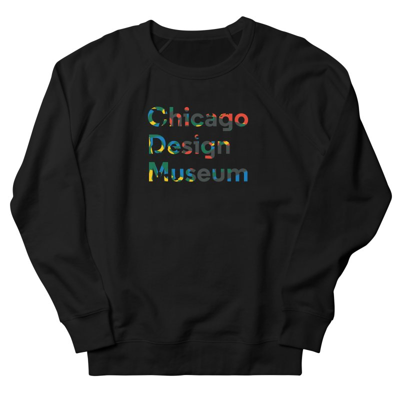 Chicago Design Museum by Yun Jee Nam Men's Sweatshirt by Chicago Design Museum