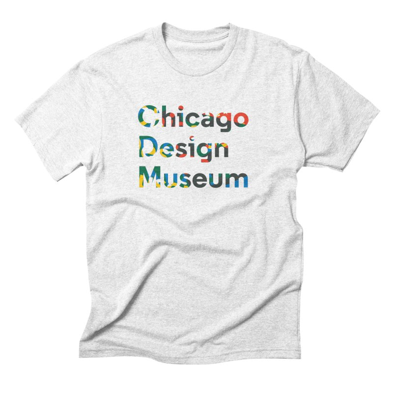 Chicago Design Museum by Yun Jee Nam Men's Triblend T-shirt by Chicago Design Museum