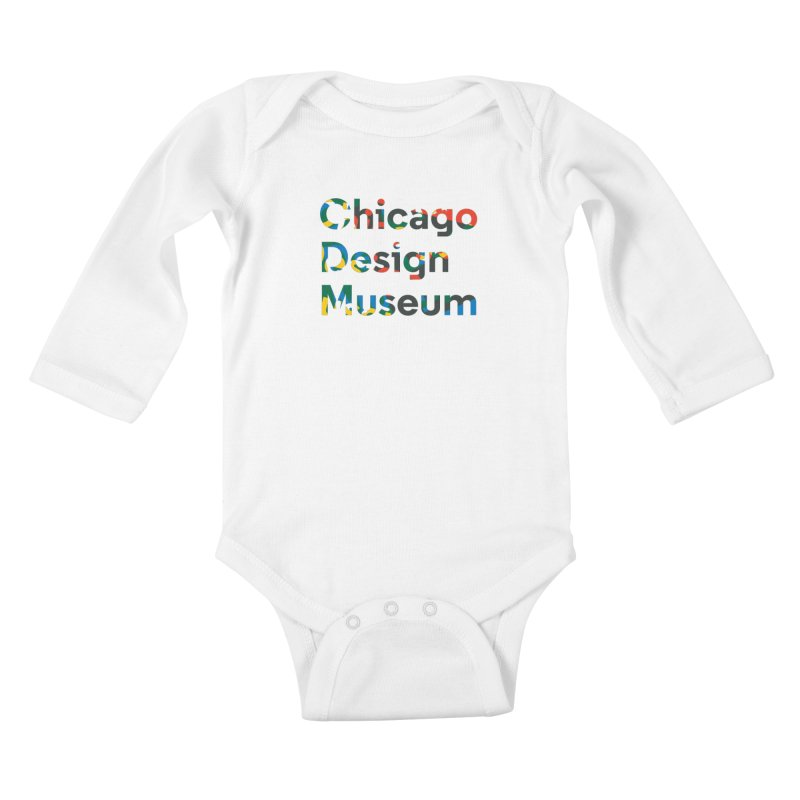 Chicago Design Museum by Yun Jee Nam Kids Baby Longsleeve Bodysuit by Chicago Design Museum