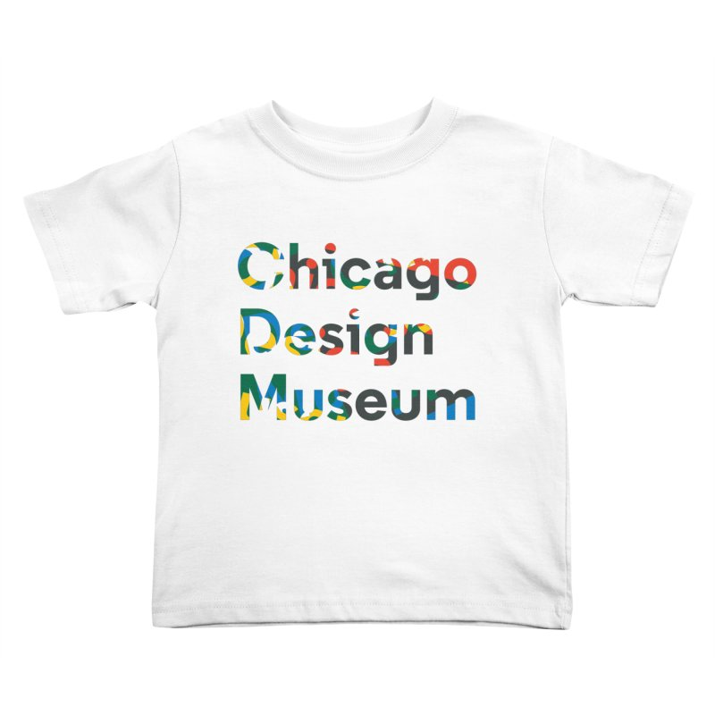 Chicago Design Museum by Yun Jee Nam Kids Toddler T-Shirt by Chicago Design Museum