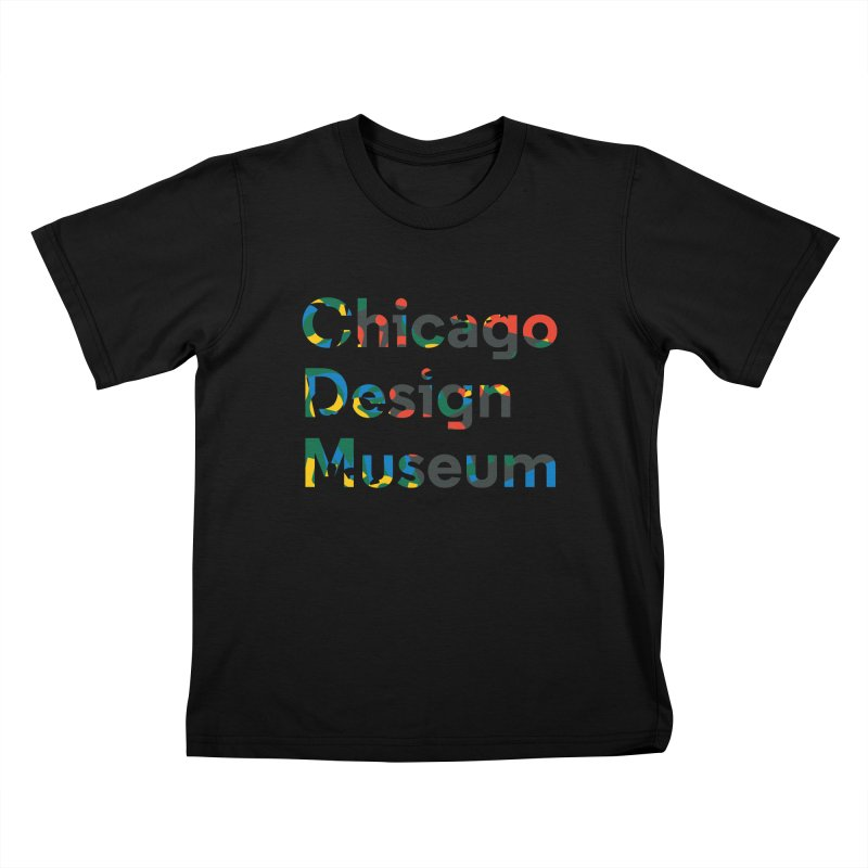Chicago Design Museum by Yun Jee Nam Kids T-shirt by Chicago Design Museum