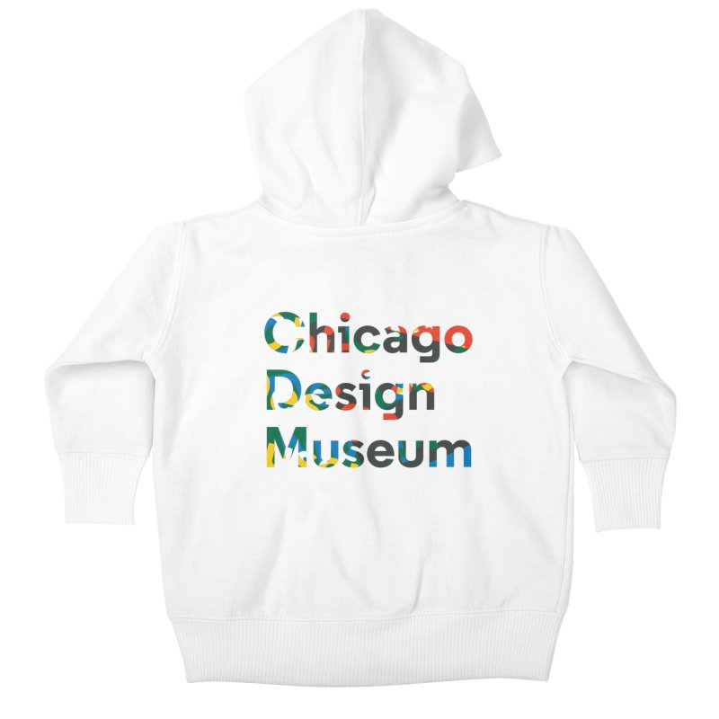 Chicago Design Museum by Yun Jee Nam Kids Baby Zip-Up Hoody by Chicago Design Museum