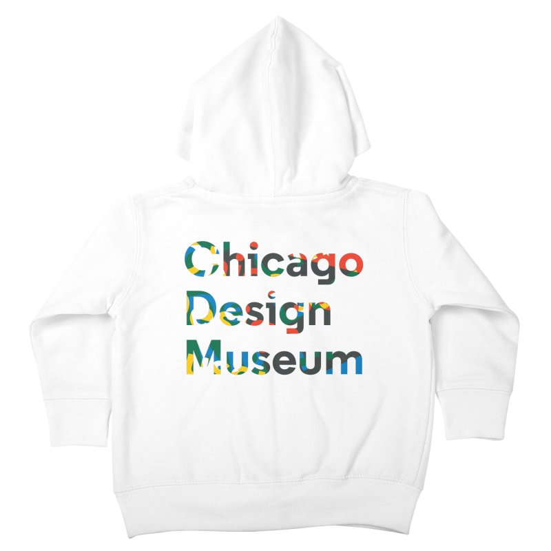 Chicago Design Museum by Yun Jee Nam Kids Toddler Zip-Up Hoody by Chicago Design Museum