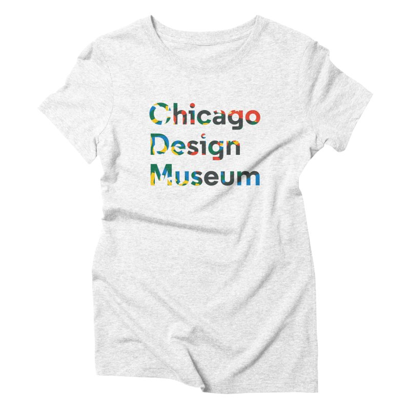Chicago Design Museum by Yun Jee Nam Women's Triblend T-shirt by Chicago Design Museum