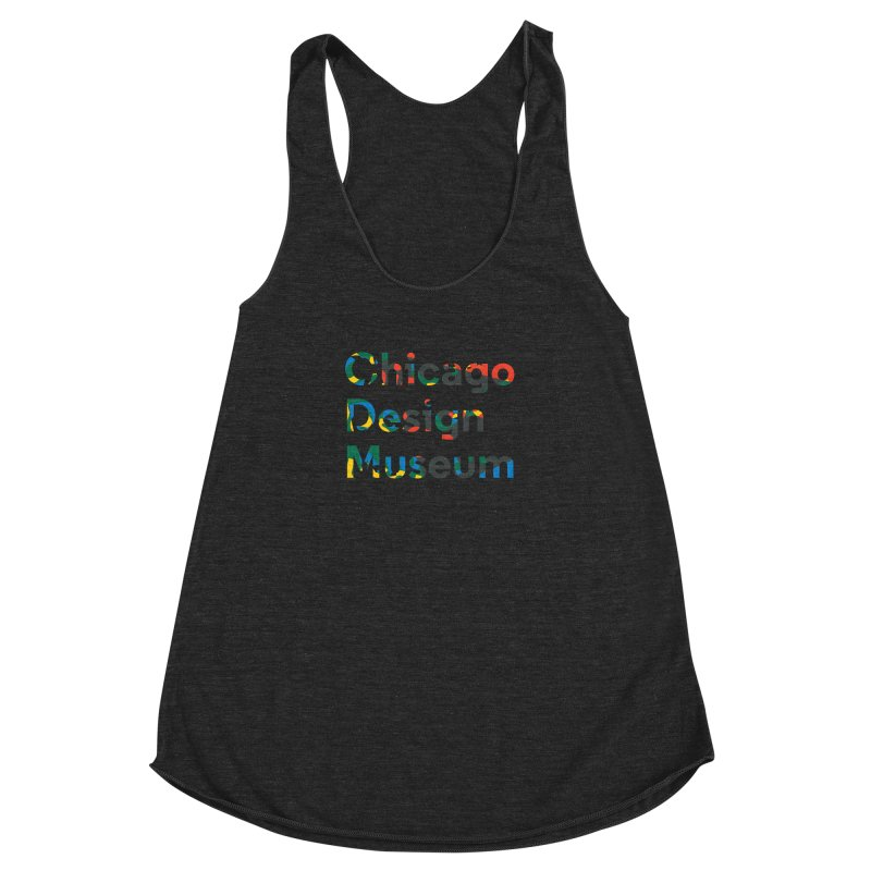 Chicago Design Museum by Yun Jee Nam Women's Racerback Triblend Tank by Chicago Design Museum