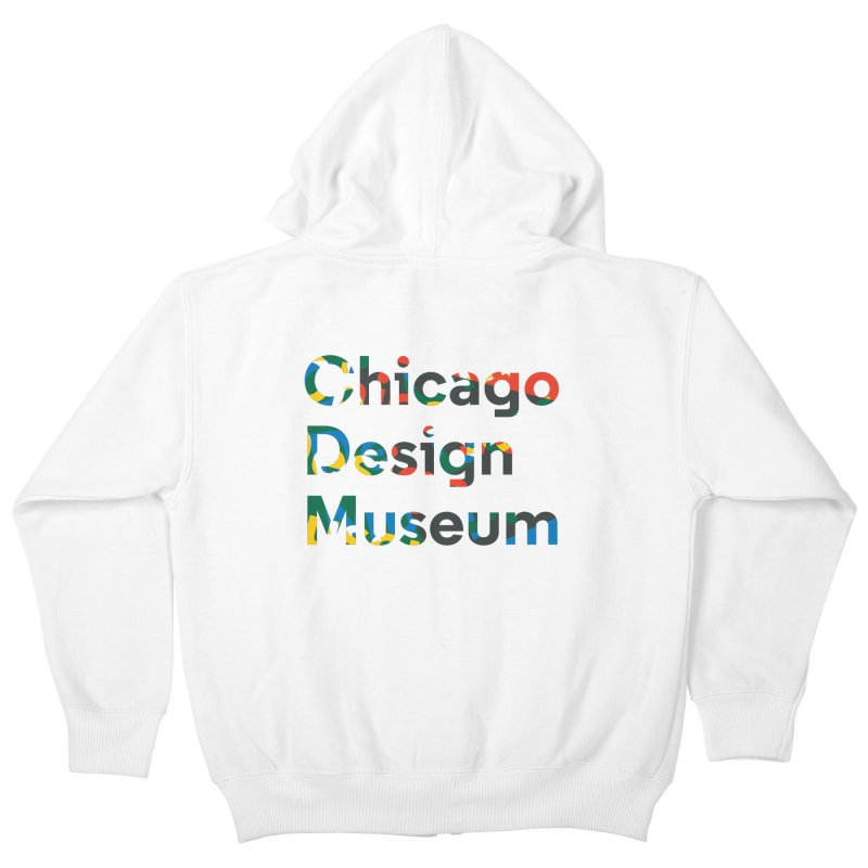 Chicago Design Museum by Yun Jee Nam Kids Zip-Up Hoody by Chicago Design Museum