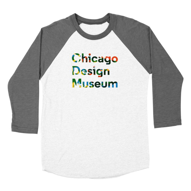 Color Play Women's Baseball Triblend T-Shirt by Chicago Design Museum