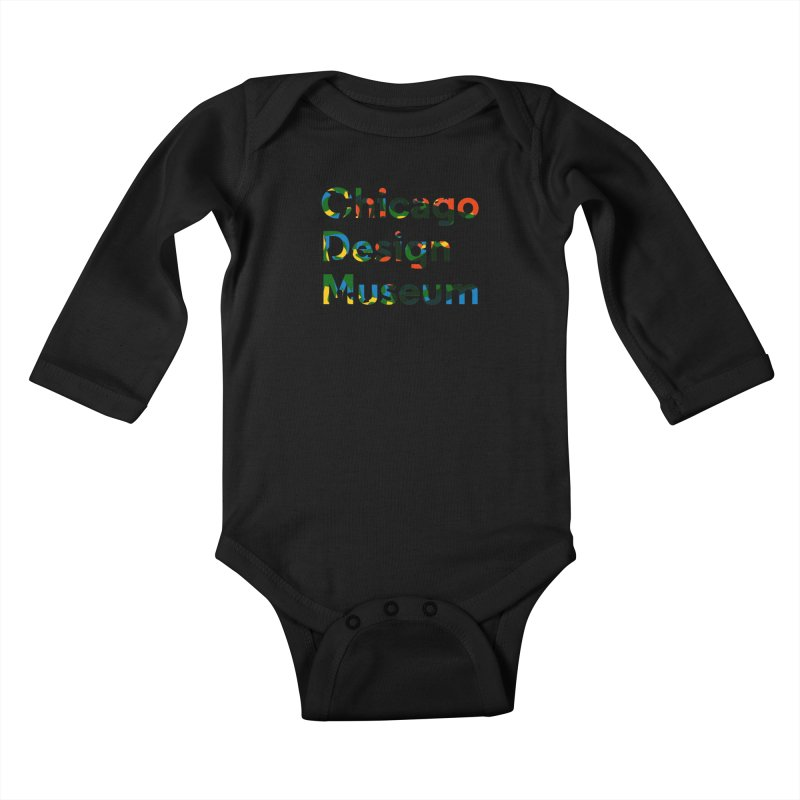 Color Play Kids Baby Longsleeve Bodysuit by Chicago Design Museum
