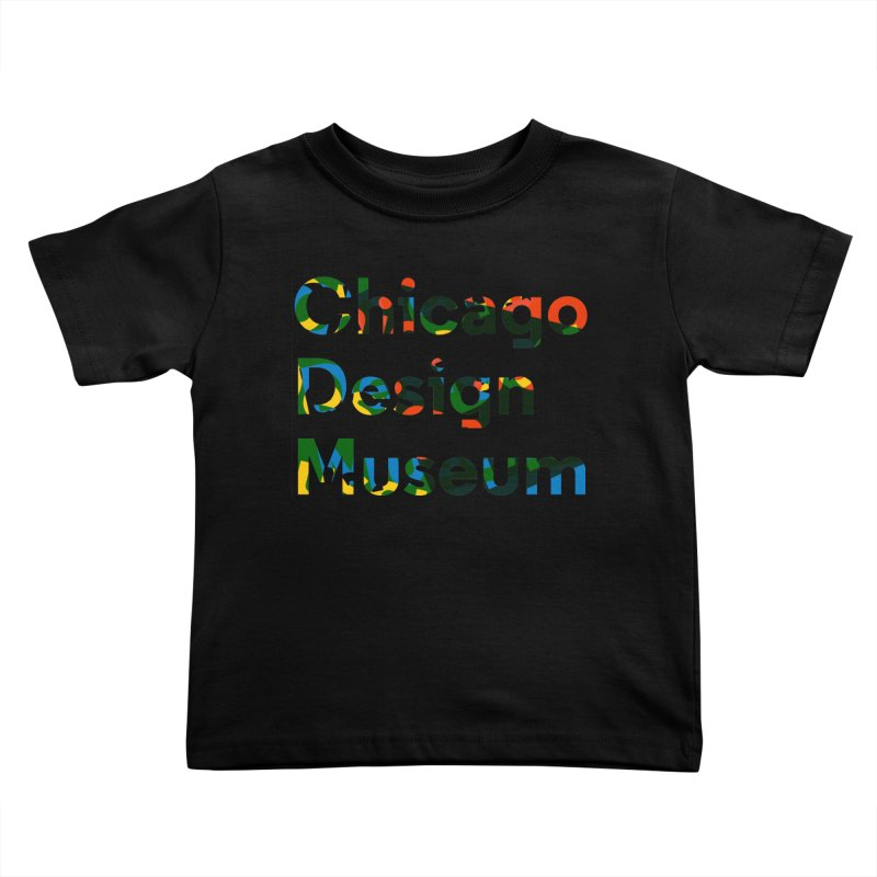 Color Play Kids Toddler T-Shirt by Chicago Design Museum