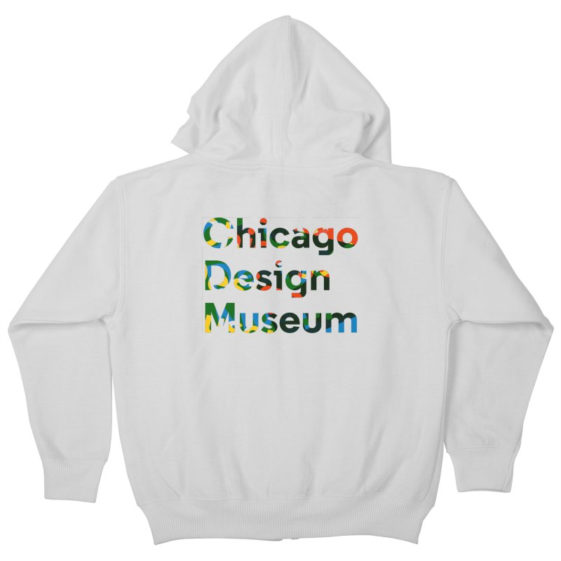 Color Play Kids Zip-Up Hoody by Chicago Design Museum