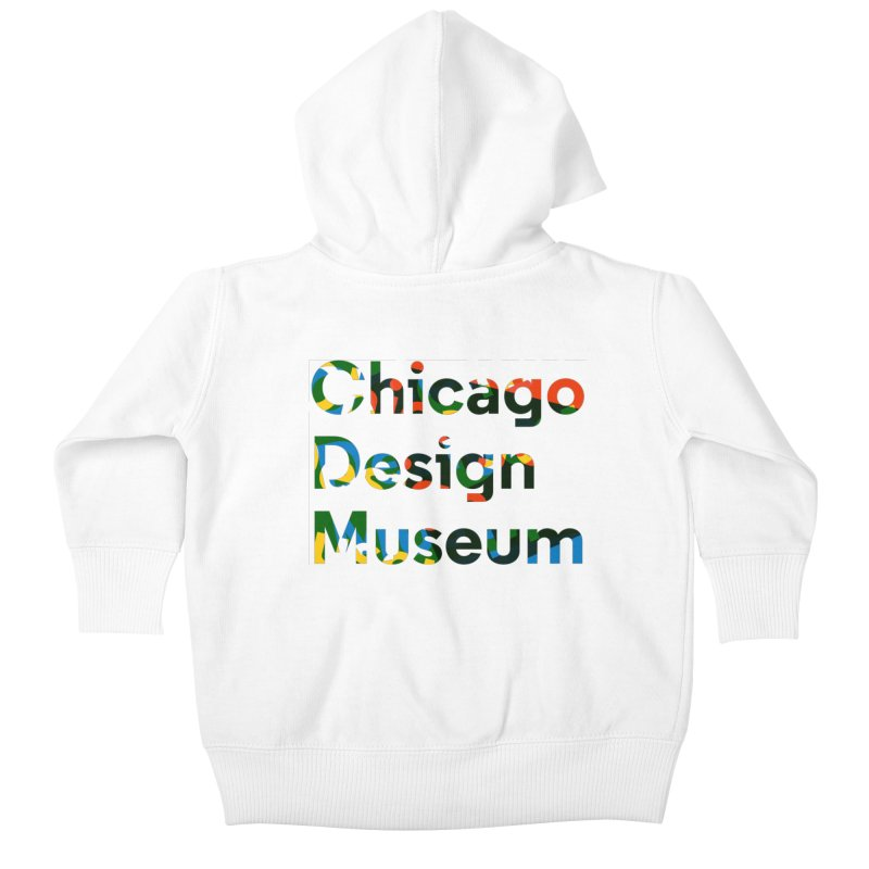 Color Play Kids Baby Zip-Up Hoody by Chicago Design Museum