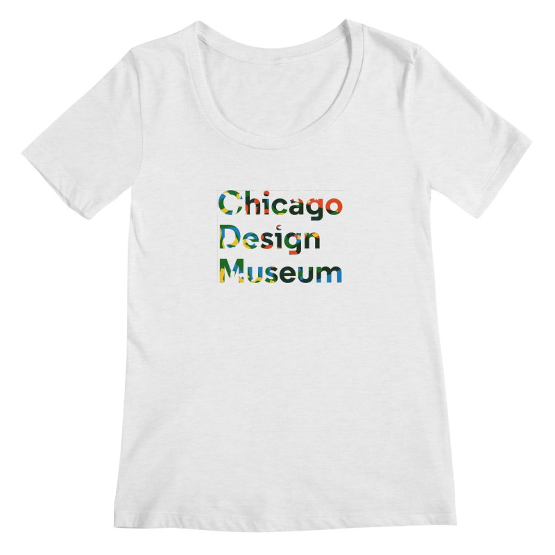 Color Play Women's Scoopneck by Chicago Design Museum
