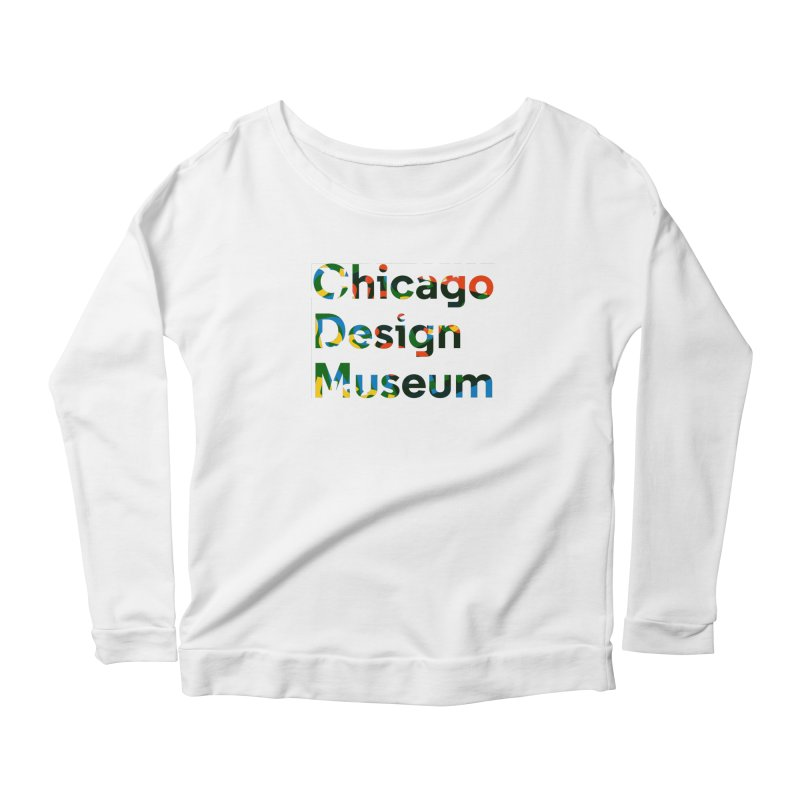 Color Play Women's Longsleeve Scoopneck  by Chicago Design Museum