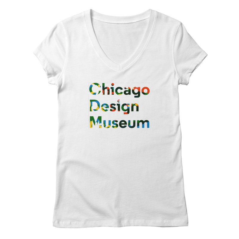 Color Play Women's V-Neck by Chicago Design Museum