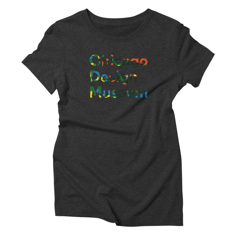 Color Play Women's Triblend T-Shirt by Chicago Design Museum