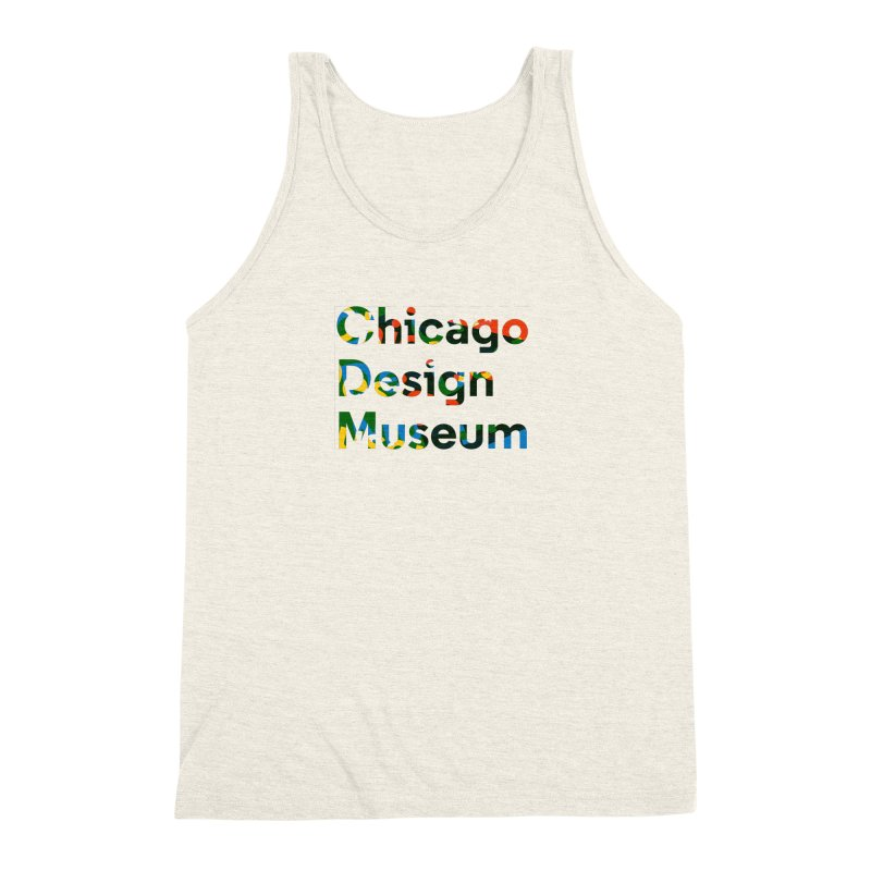 Color Play Men's Triblend Tank by Chicago Design Museum