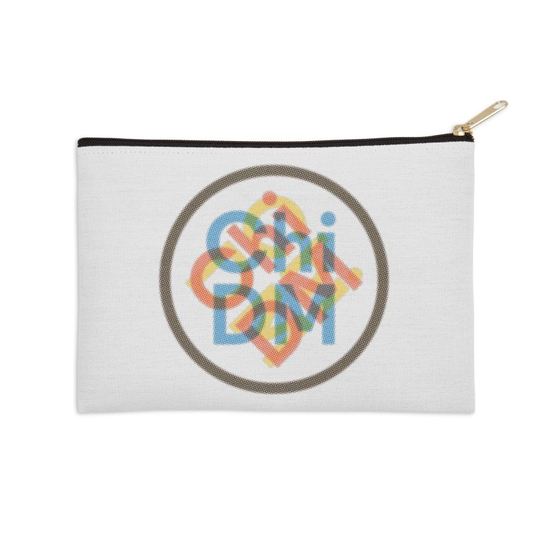 Chicago Design Museum by Yun Jee Nam Accessories Zip Pouch by Chicago Design Museum