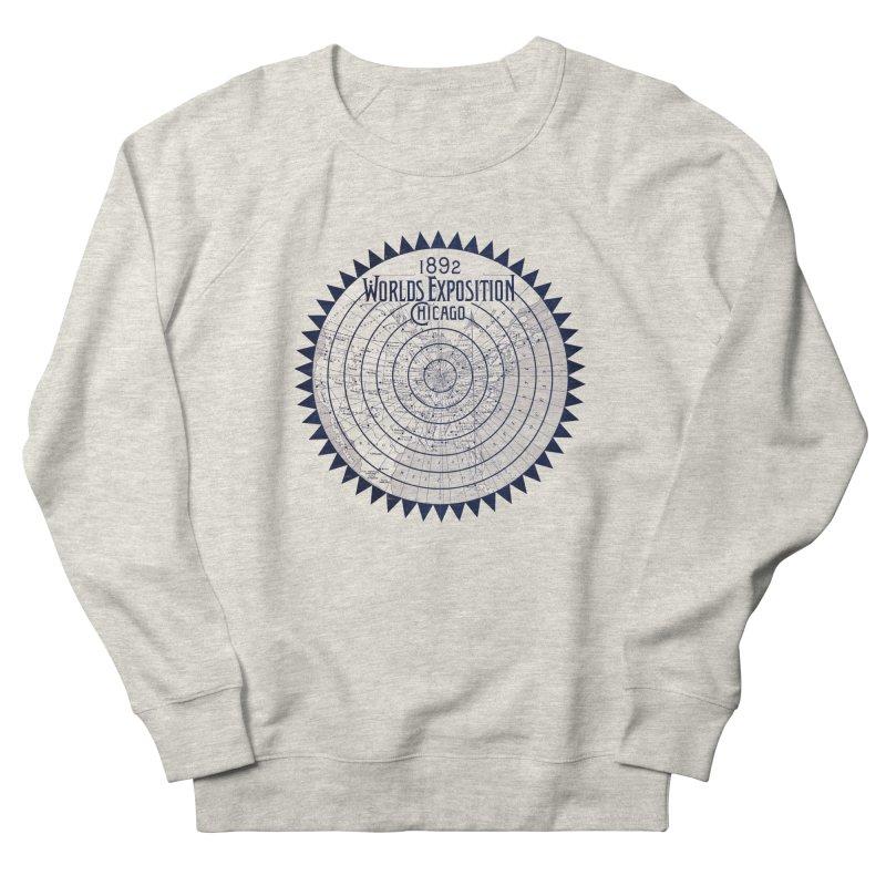 World's Exposition Chicago 1892 Men's Sweatshirt by Chicago Design Museum