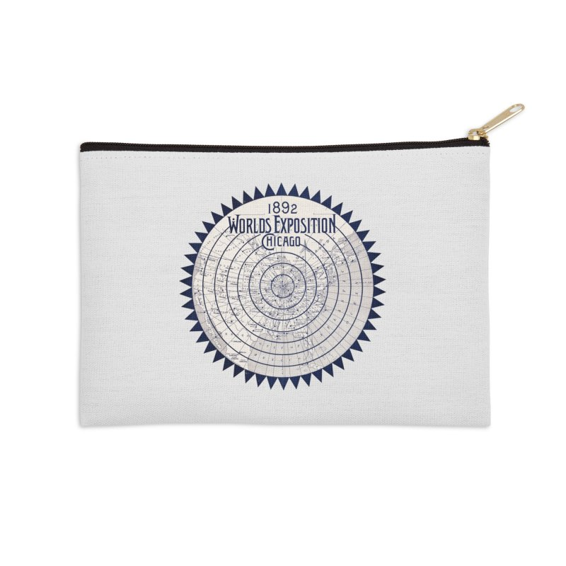 World's Exposition Chicago 1892 Accessories Zip Pouch by Chicago Design Museum