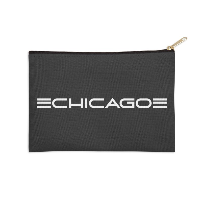 Chicago by Charles Dawson Accessories Zip Pouch by Chicago Design Museum