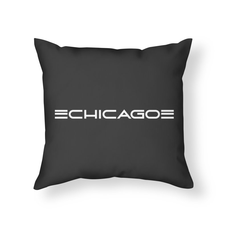 Chicago by Charles Dawson Home Throw Pillow by Chicago Design Museum