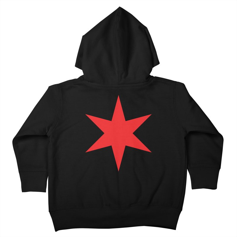 The Chicago Star by Wallace Rice Kids Toddler Zip-Up Hoody by Chicago Design Museum
