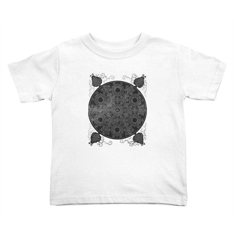 Fourth Knot with Seven Wreaths by Albrecht Dürer Kids Toddler T-Shirt by Chicago Design Museum