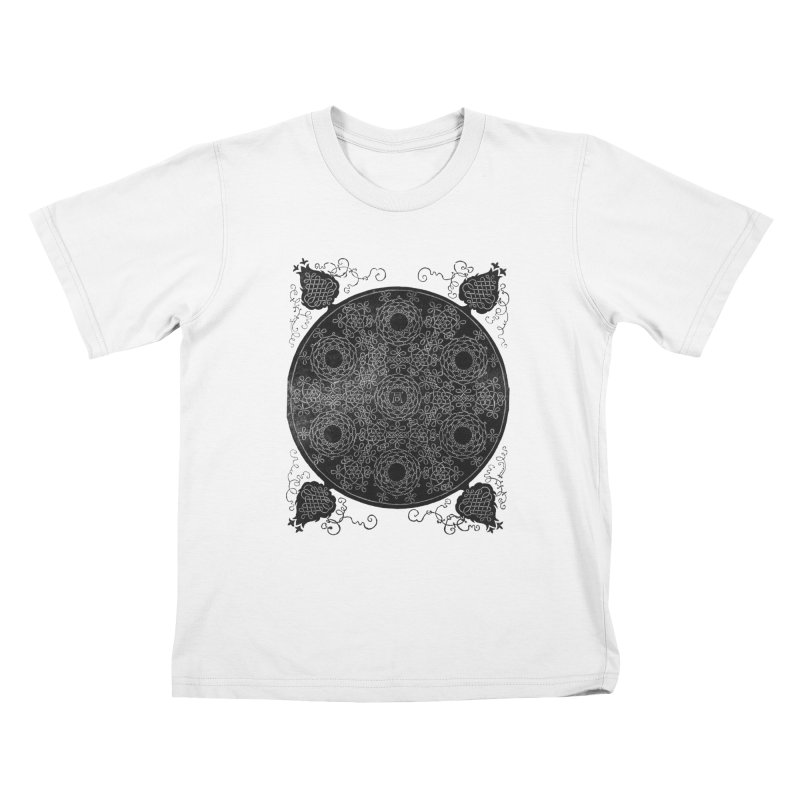 Fourth Knot with Seven Wreaths by Albrecht Dürer Kids T-shirt by Chicago Design Museum