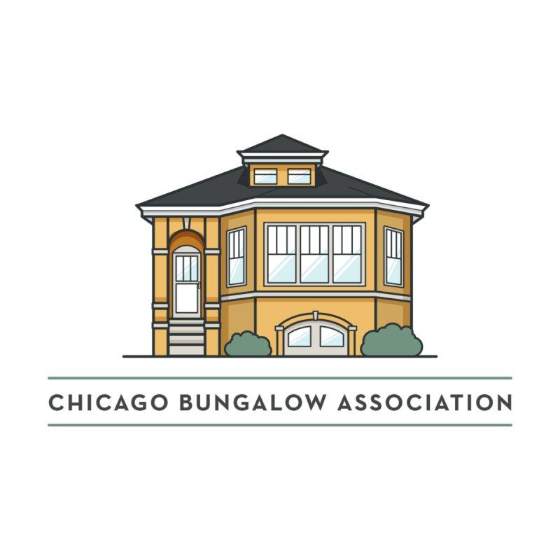 Chicago Bungalow Association Logo Men's T-Shirt by Chicago Bungalow Association's Artist Shop