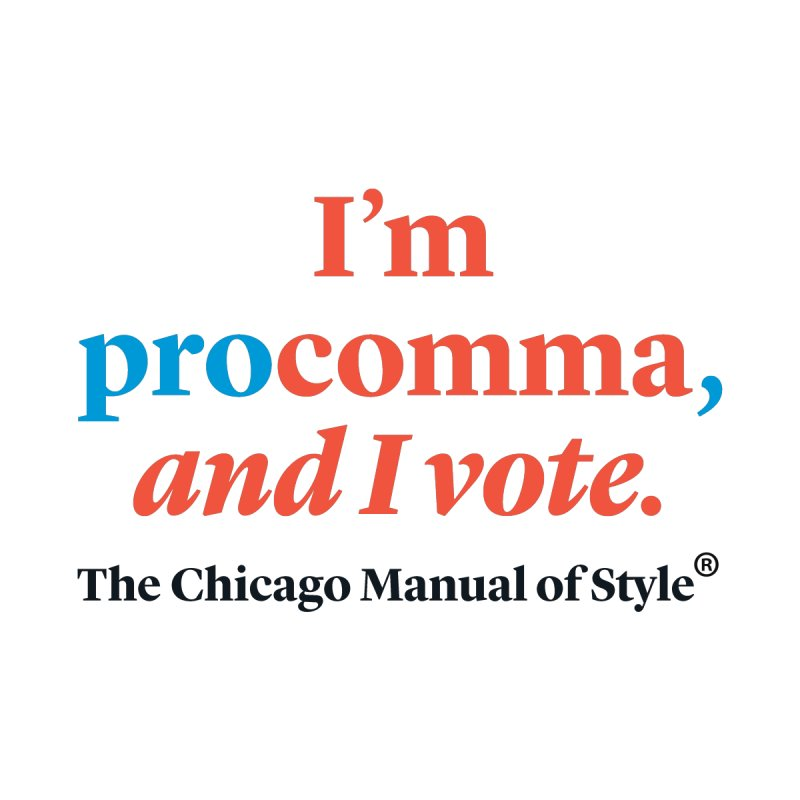 VOTE FOR COMMA Kids Toddler Pullover Hoody by Chicago Manual of Style