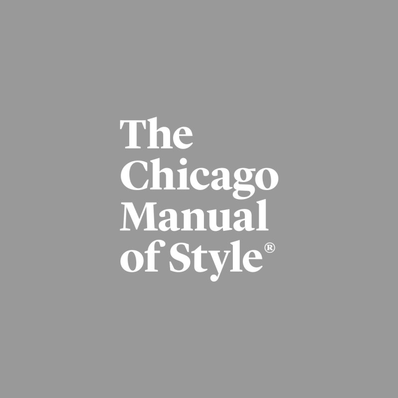 The Chicago Manual of Style Logo White Men Pullover Hoody by Chicago Manual of Style