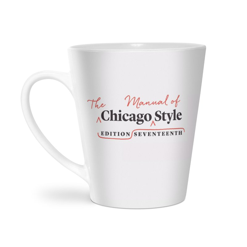 Chicago Style, Black + Red, Accessories Accessories Mug by Chicago Manual of Style