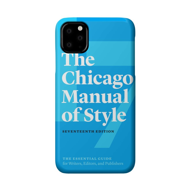 The Chicago Manual of Style Book Cover, Accessories Accessories Phone Case by Chicago Manual of Style