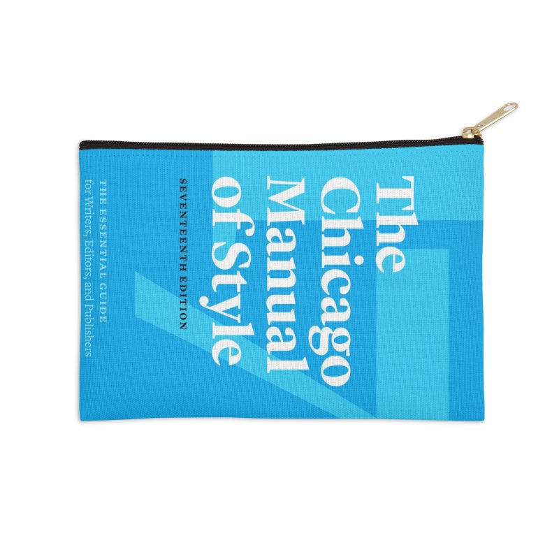 The Chicago Manual of Style Book Cover, Accessories Accessories Zip Pouch by Chicago Manual of Style