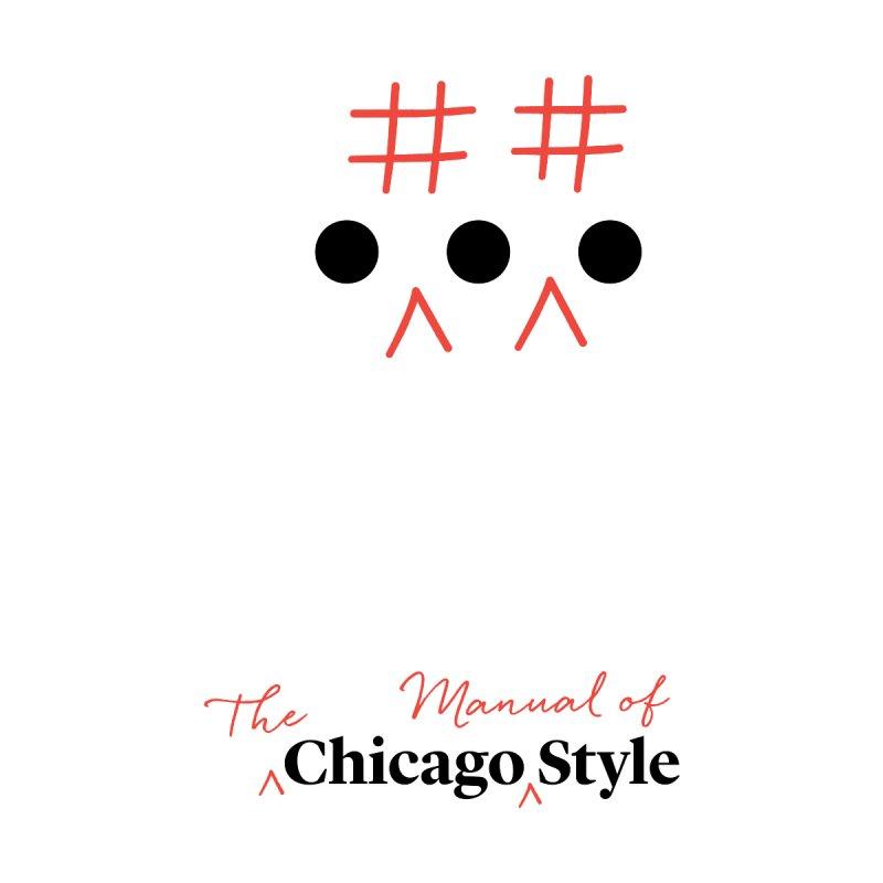 Chicago-Style Ellipsis, Black + Red, Kids' Apparel by Chicago Manual of Style