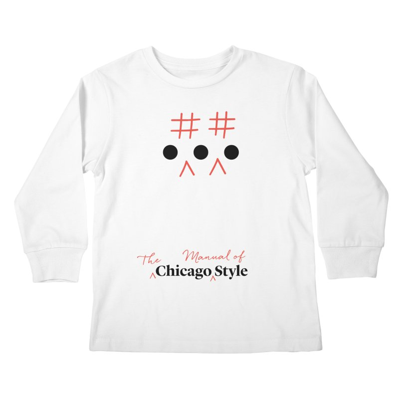 Chicago-Style Ellipsis, Women's and Kids' Apparel Kids Longsleeve T-Shirt by Chicago Manual of Style