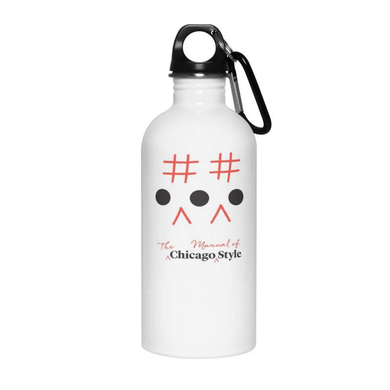 Ellipses for accessories Accessories Water Bottle by Chicago Manual of Style