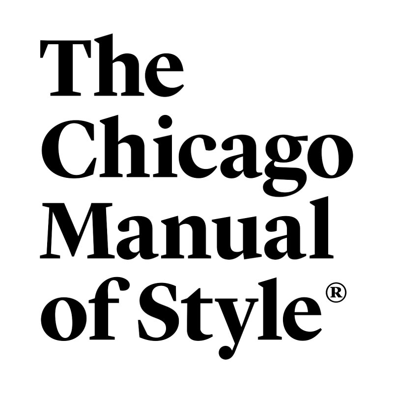 The Chicago Manual of Style, Black Logo Women's Sweatshirt by Chicago Manual of Style