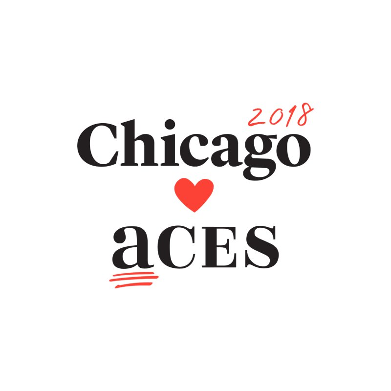 Chicago Hearts ACES 2018 Black + Red by Chicago Manual of Style