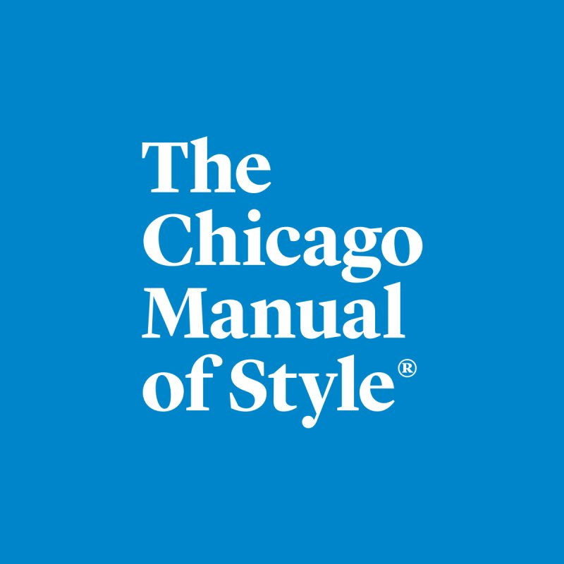 The Chicago Manual of Style, White Logo by Chicago Manual of Style