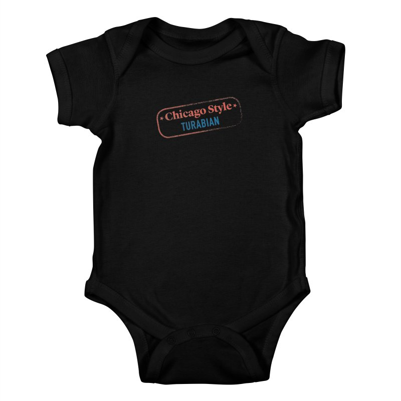 Stamp of Approval Kids Baby Bodysuit by Chicago Manual of Style