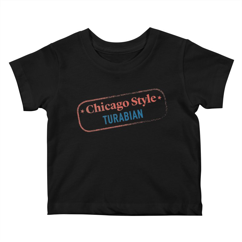 Chicago-Style Stamp of Approval Kids Baby T-Shirt by Chicago Manual of Style