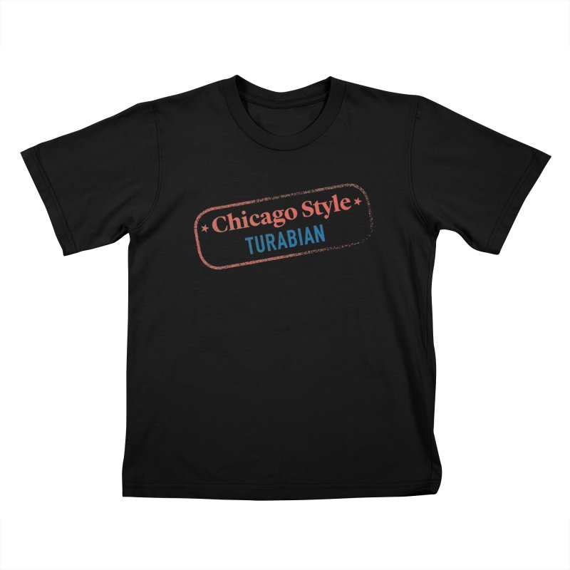 Stamp of Approval Kids T-Shirt by Chicago Manual of Style