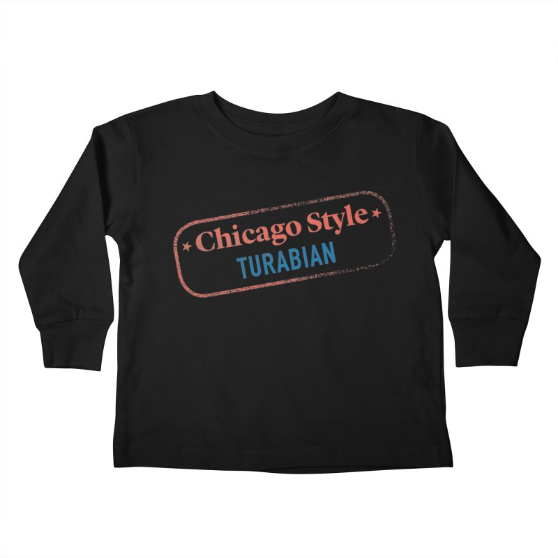 Stamp of Approval Kids Toddler Longsleeve T-Shirt by Chicago Manual of Style